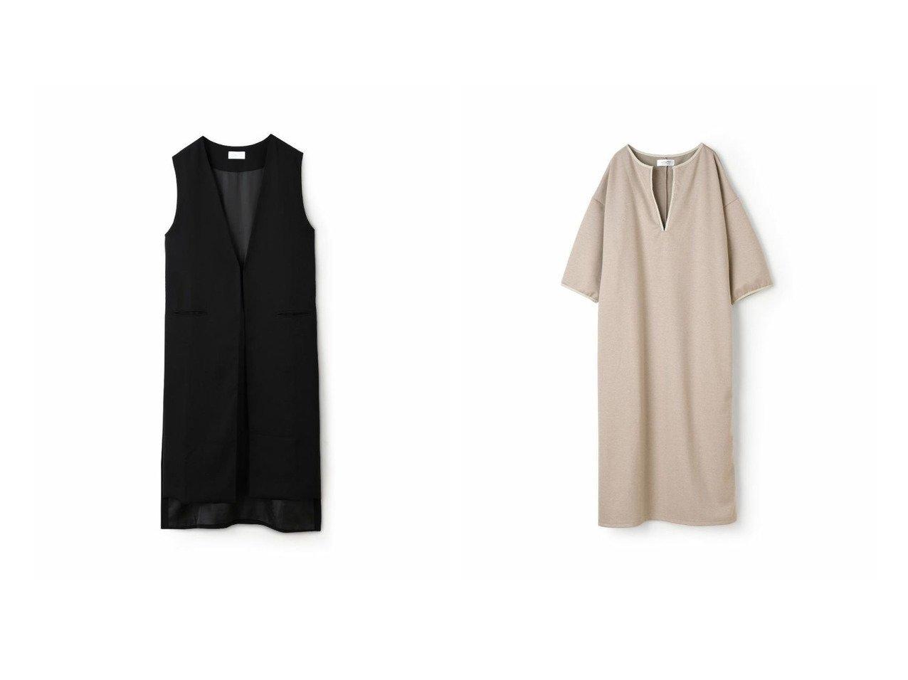 【marjour/マージュール】の2wayパイピングワンピース 2WAY PIPING ONEPIECE&marjourジョーゼットジレ GEORGETTE GILET おすすめ!人気、トレンド・レディースファッションの通販 おすすめで人気の流行・トレンド、ファッションの通販商品 メンズファッション・キッズファッション・インテリア・家具・レディースファッション・服の通販 founy(ファニー) https://founy.com/ ファッション Fashion レディースファッション WOMEN アウター Coat Outerwear トップス・カットソー Tops/Tshirt ベスト/ジレ Gilets/Vests ワンピース Dress 秋 Autumn/Fall カットソー スタイリッシュ スリット スーツ ノースリーブ 長袖 ベーシック ロング 冬 Winter シンプル パイピング |ID:crp329100000026801