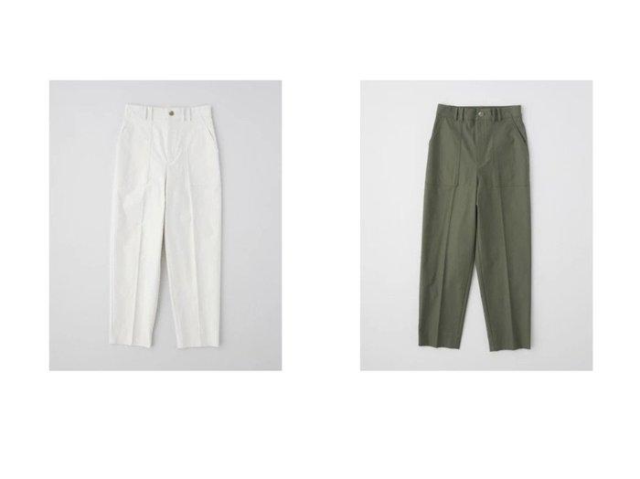 【TWW / Traditional Weatherwear/トラディショナル ウェザーウェア】のLOOSE TAPERED PANTS 【パンツ】おすすめ!人気、トレンド・レディースファッションの通販   おすすめファッション通販アイテム インテリア・キッズ・メンズ・レディースファッション・服の通販 founy(ファニー) https://founy.com/ ファッション Fashion レディースファッション WOMEN パンツ Pants サテン ストレッチ センター ミリタリー |ID:crp329100000026835