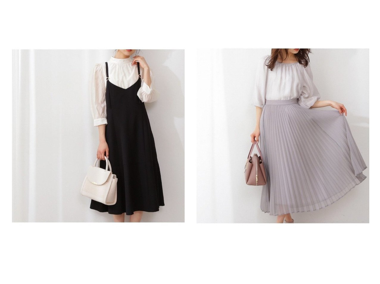 【PROPORTION BODY DRESSING/プロポーション ボディドレッシング】のシアープリーツスカート&マーメイドラインジャンパースカート 【スカート】おすすめ!人気、トレンド・レディースファッションの通販   おすすめで人気の流行・トレンド、ファッションの通販商品 メンズファッション・キッズファッション・インテリア・家具・レディースファッション・服の通販 founy(ファニー) https://founy.com/ ファッション Fashion レディースファッション WOMEN スカート Skirt プリーツスカート Pleated Skirts NEW・新作・新着・新入荷 New Arrivals カットソー ショルダー スタンダード フィット フレア マーメイド ロング シアー シンプル スウェット パーカー フェミニン プリーツ |ID:crp329100000026855