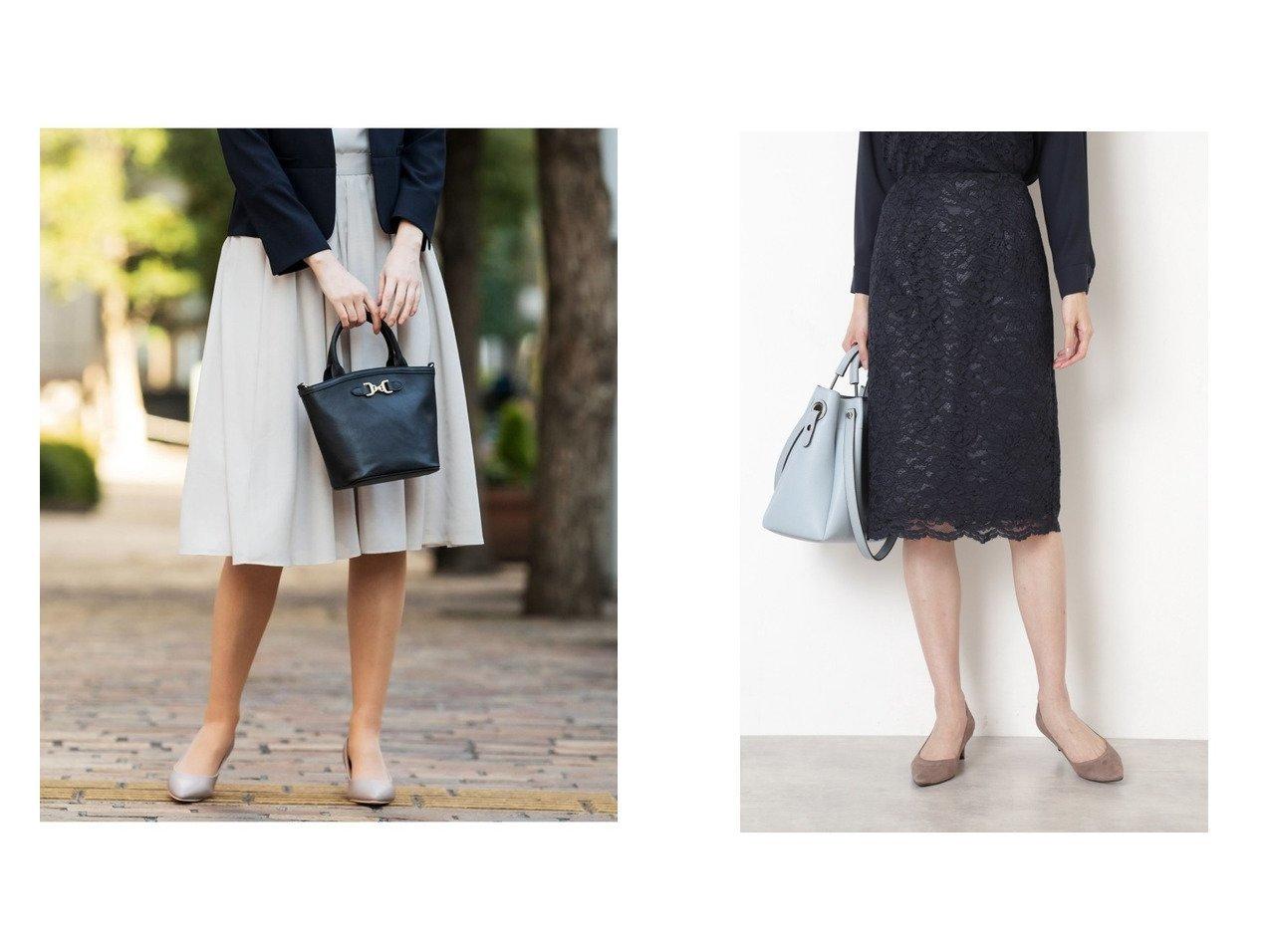 【any SiS/エニィ スィス】の【洗える】タックギャザーエアリー スカート&【NATURAL BEAUTY BASIC/ナチュラル ビューティー ベーシック】のスカラレースタイトスカート 【スカート】おすすめ!人気、トレンド・レディースファッションの通販   | レディースファッション・服の通販 founy(ファニー)