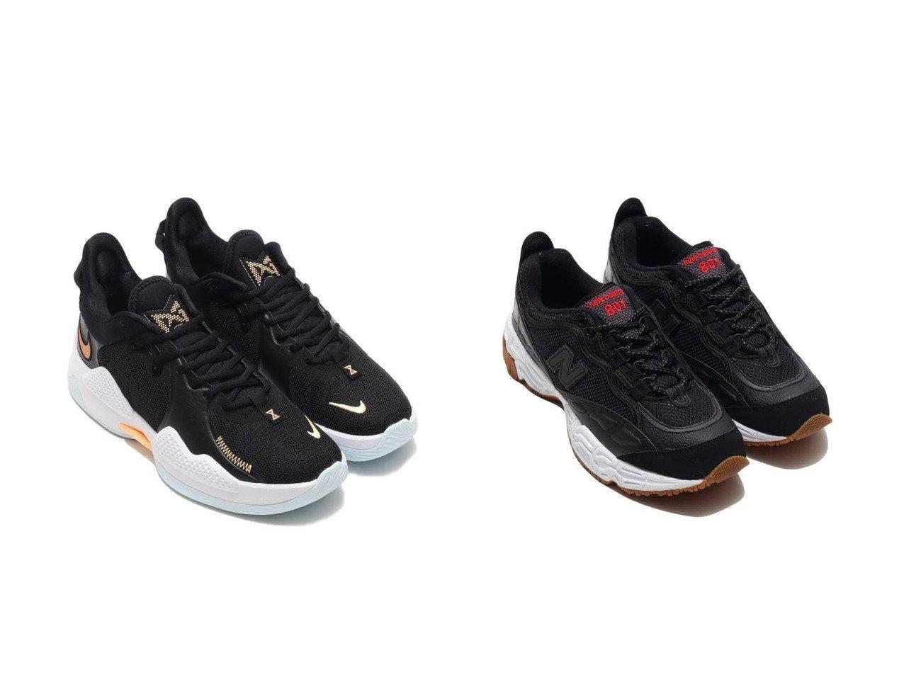 【new balance/ニューバランス】のNew Balance ML801BEC&【NIKE/ナイキ】のNIKE PG 5 EP 【シューズ・靴】おすすめ!人気、トレンド・レディースファッションの通販   おすすめで人気の流行・トレンド、ファッションの通販商品 メンズファッション・キッズファッション・インテリア・家具・レディースファッション・服の通販 founy(ファニー) https://founy.com/ ファッション Fashion レディースファッション WOMEN シューズ スニーカー スリッポン クッション メッシュ 軽量 |ID:crp329100000026884
