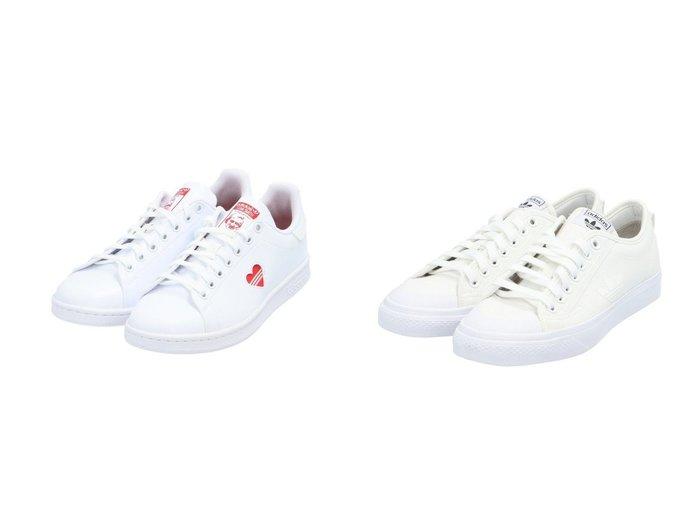 【adidas Originals/アディダス オリジナルス】のニッツァ トレフォイル NIZZA TREFOIL アディダスオリジナルス&スタンスミス STAN SMITH アディダスオリジナルス FY4481 【シューズ・靴】おすすめ!人気、トレンド・レディースファッションの通販   おすすめファッション通販アイテム インテリア・キッズ・メンズ・レディースファッション・服の通販 founy(ファニー) https://founy.com/ ファッション Fashion レディースファッション WOMEN キャンバス クラシック シューズ ストライプ スニーカー スポーツ スリッポン ミックス A/W・秋冬 AW・Autumn/Winter・FW・Fall-Winter ビンテージ ライニング |ID:crp329100000026890