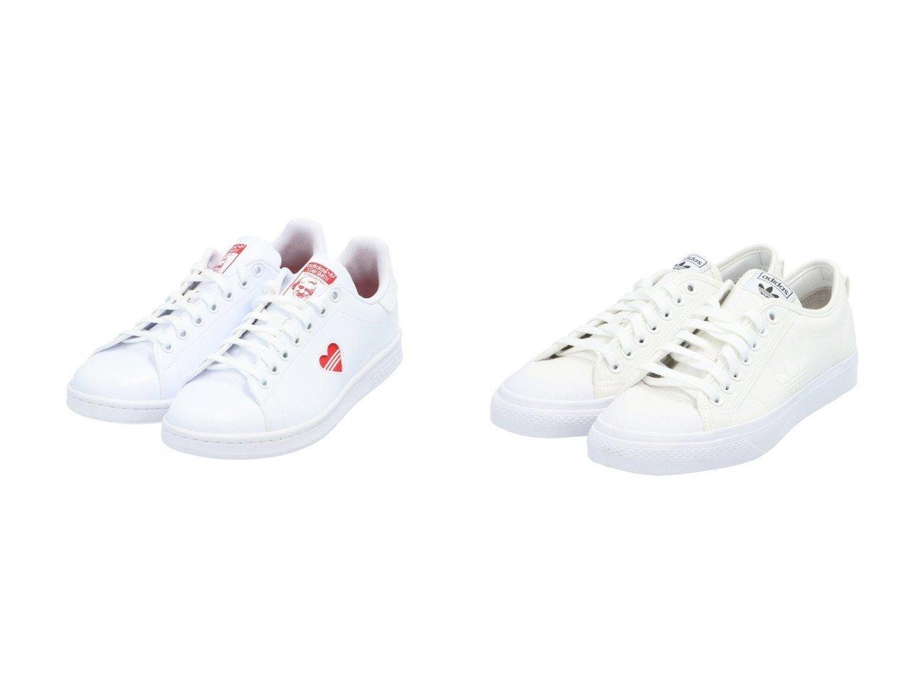 【adidas Originals/アディダス オリジナルス】のニッツァ トレフォイル NIZZA TREFOIL アディダスオリジナルス&スタンスミス STAN SMITH アディダスオリジナルス FY4481 【シューズ・靴】おすすめ!人気、トレンド・レディースファッションの通販   おすすめで人気の流行・トレンド、ファッションの通販商品 メンズファッション・キッズファッション・インテリア・家具・レディースファッション・服の通販 founy(ファニー) https://founy.com/ ファッション Fashion レディースファッション WOMEN キャンバス クラシック シューズ ストライプ スニーカー スポーツ スリッポン ミックス A/W・秋冬 AW・Autumn/Winter・FW・Fall-Winter ビンテージ ライニング  ID:crp329100000026890
