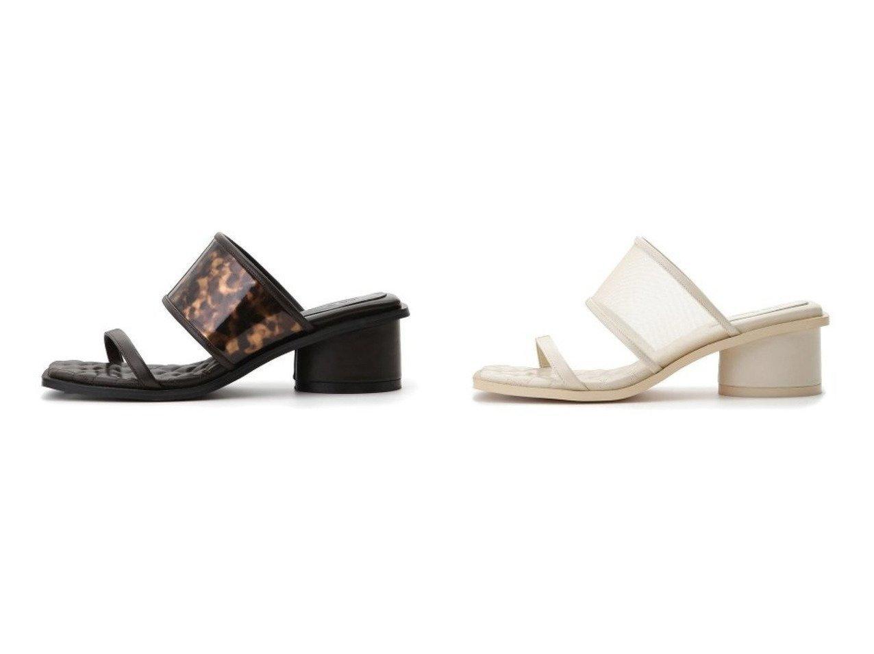 【Lily Brown/リリーブラウン】のダブルストラップミュール 【シューズ・靴】おすすめ!人気、トレンド・レディースファッションの通販   おすすめで人気の流行・トレンド、ファッションの通販商品 メンズファッション・キッズファッション・インテリア・家具・レディースファッション・服の通販 founy(ファニー) https://founy.com/ ファッション Fashion レディースファッション WOMEN インソール キルティング シューズ フィット プリント メッシュ モダン ラップ ロング  ID:crp329100000026895