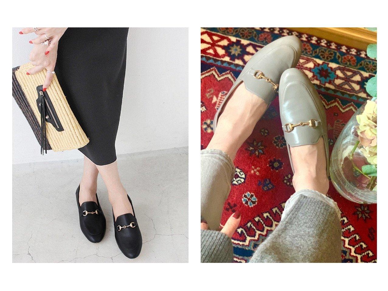 【Fin/フィン】の【低反発スポンジ入り】本革ビットローファー 【シューズ・靴】おすすめ!人気、トレンド・レディースファッションの通販   おすすめで人気の流行・トレンド、ファッションの通販商品 メンズファッション・キッズファッション・インテリア・家具・レディースファッション・服の通販 founy(ファニー) https://founy.com/ ファッション Fashion レディースファッション WOMEN クッション シェイプ シューズ ドレス フォルム モチーフ  ID:crp329100000026896