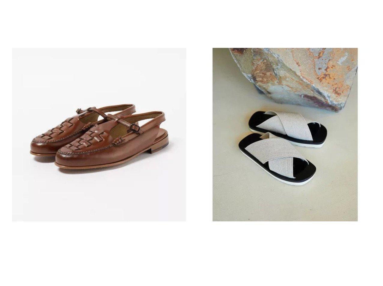 【GALLARDAGALANTE/ガリャルダガランテ】の【Proenza Schouler】スポーツエラスティックサンダル&【HEREU/ヘリュー】の【Roqueta】ロファーサンダル 【シューズ・靴】おすすめ!人気、トレンド・レディースファッションの通販   おすすめで人気の流行・トレンド、ファッションの通販商品 メンズファッション・キッズファッション・インテリア・家具・レディースファッション・服の通販 founy(ファニー) https://founy.com/ ファッション Fashion レディースファッション WOMEN スポーツウェア Sportswear サンダル / ミュール Sandals スポーツ シューズ Shoes サンダル シューズ クラシック ニューヨーク フィット フラット プリント ミックス モチーフ リラックス  ID:crp329100000026899