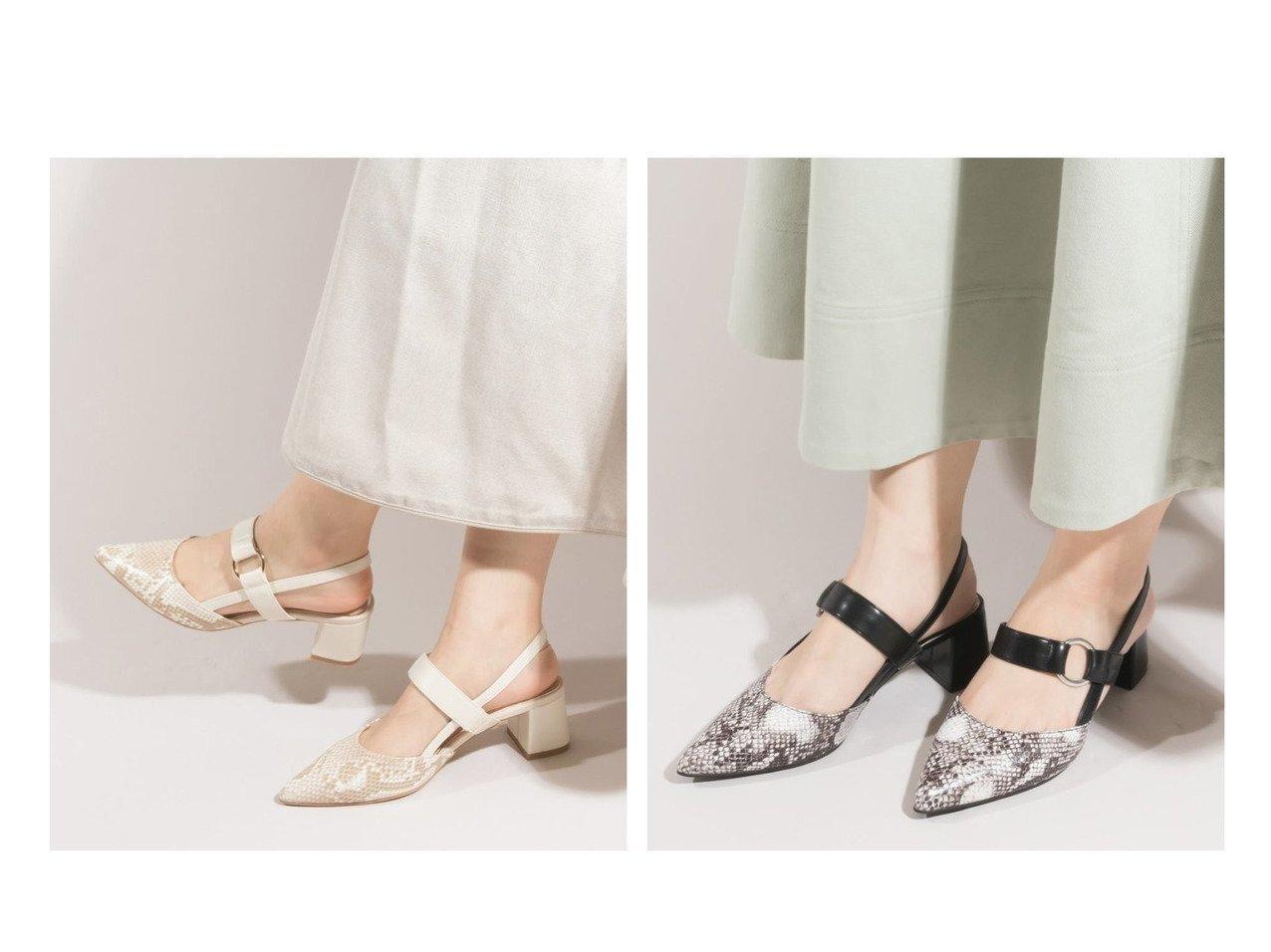 【RANDA/ランダ】のベルトストラップパンプス 【シューズ・靴】おすすめ!人気、トレンド・レディースファッションの通販   | レディースファッション・服の通販 founy(ファニー)
