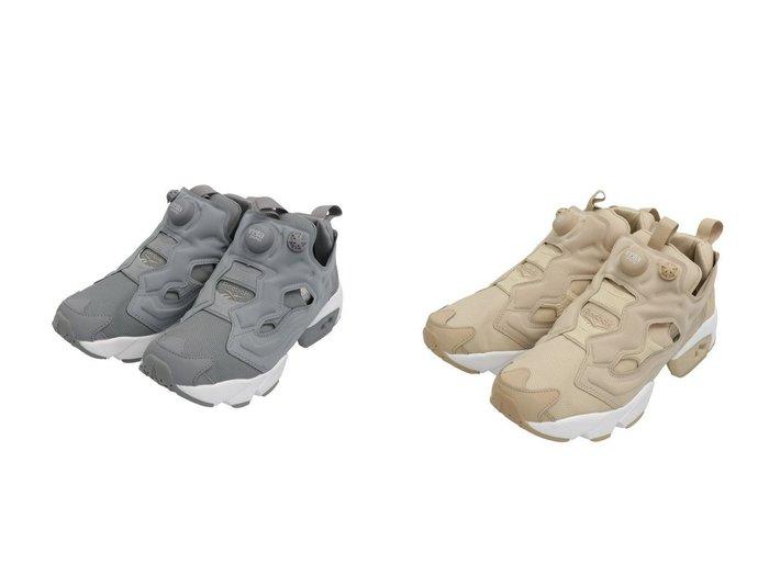 【Reebok CLASSIC/リーボック】のINSTAPUMP FURY OG 【シューズ・靴】おすすめ!人気、トレンド・レディースファッションの通販  おすすめファッション通販アイテム レディースファッション・服の通販 founy(ファニー)  ファッション Fashion レディースファッション WOMEN シューズ スニーカー スリッポン テクスチャー フィット ライニング レース 人気  ID:crp329100000027062