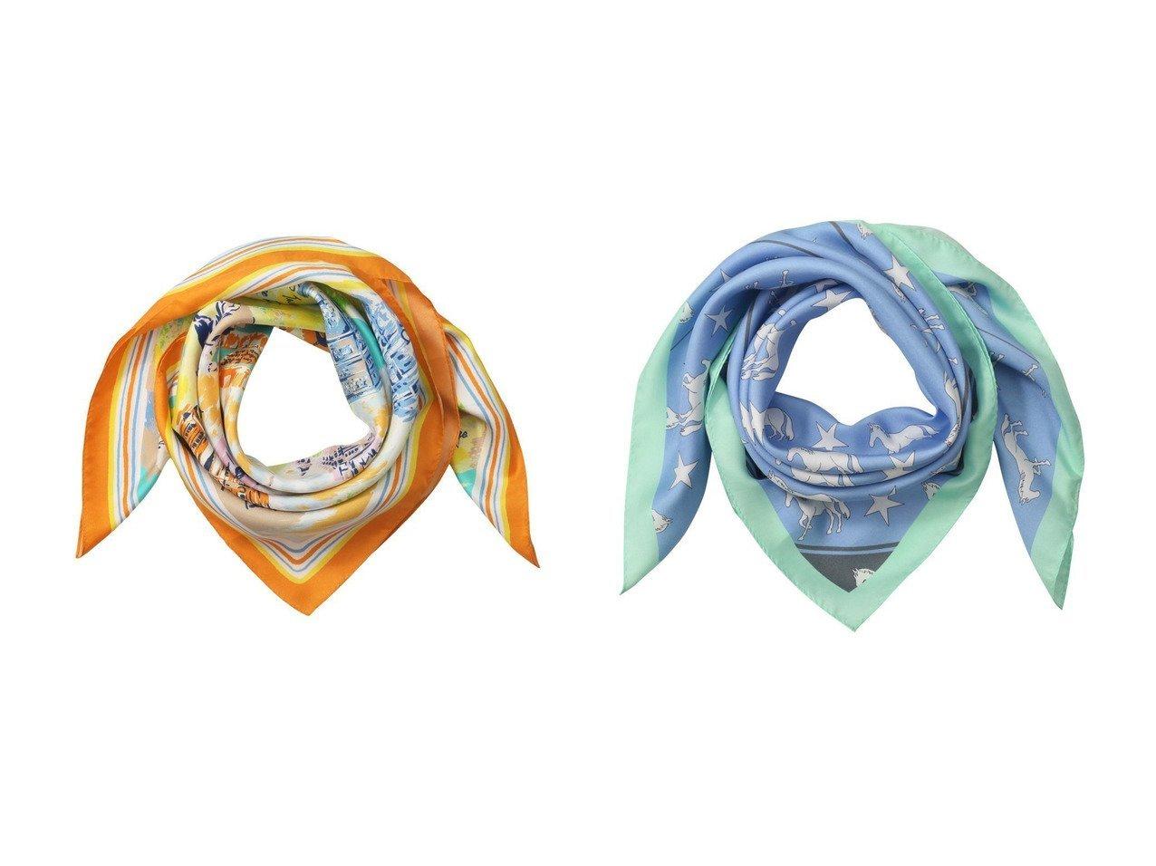 【ANAYI/アナイ】のタウンプリントスカーフ&ホースプリントスカーフ おすすめ!人気、トレンド・レディースファッションの通販 おすすめで人気の流行・トレンド、ファッションの通販商品 メンズファッション・キッズファッション・インテリア・家具・レディースファッション・服の通販 founy(ファニー) https://founy.com/ ファッション Fashion レディースファッション WOMEN 2021年 2021 2021春夏・S/S SS/Spring/Summer/2021 S/S・春夏 SS・Spring/Summer なめらか アクセサリー シルク スカーフ プリント モチーフ 帽子 春 Spring  ID:crp329100000027175