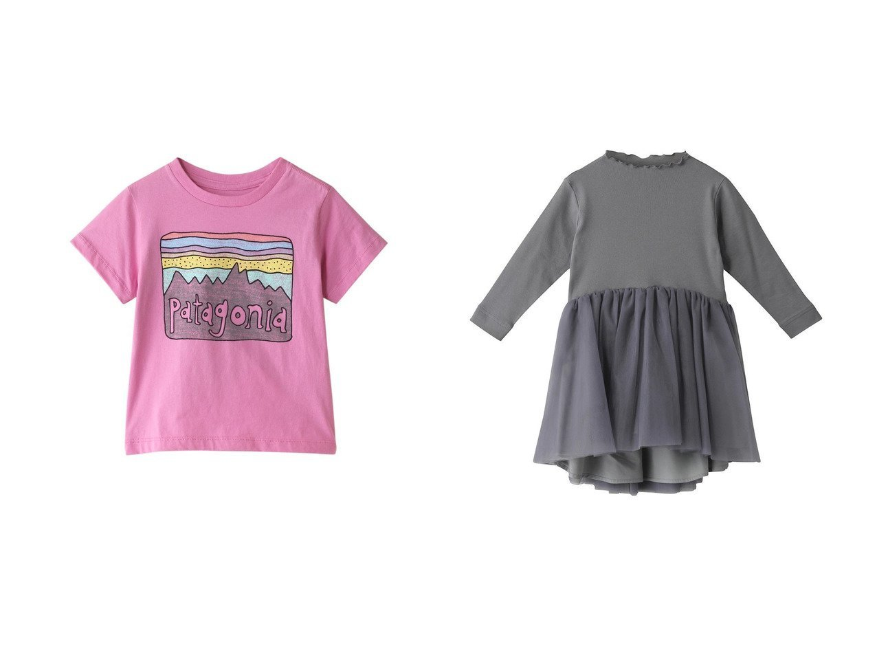 【patagonia / KIDS/パタゴニア】の【Baby】フィッツロイスカイズオーガニックTシャツ&【AMICA / KIDS/アミカ】の【Baby&Kids】チュチュドレス 【BABY】ベビー服のおすすめ!人気、キッズファッションの通販 おすすめで人気の流行・トレンド、ファッションの通販商品 メンズファッション・キッズファッション・インテリア・家具・レディースファッション・服の通販 founy(ファニー) https://founy.com/ ファッション Fashion キッズファッション KIDS ワンピース Dress/Kids トップス・カットソー Tops/Tees/Kids 2021年 2021 2021春夏・S/S SS/Spring/Summer/2021 S/S・春夏 SS・Spring/Summer ジャージ チュニック チュール ドレス 春 Spring |ID:crp329100000027189