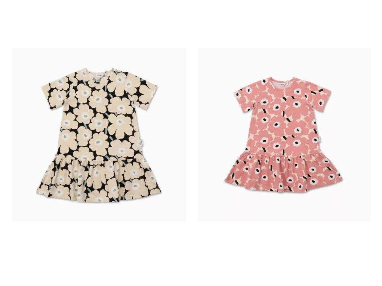 【marimekko / KIDS/マリメッコ】の[Kids]Ihailla Mini Unikot 2 ワンピース&[Kids]Ihailla Mini Unikot 1 ワンピース 【KIDS】子供服のおすすめ!人気トレンド・キッズファッションの通販  おすすめで人気の流行・トレンド、ファッションの通販商品 メンズファッション・キッズファッション・インテリア・家具・レディースファッション・服の通販 founy(ファニー) https://founy.com/ ファッション Fashion キッズファッション KIDS ワンピース Dress/Kids ジャージー ストレッチ フレア レギンス  ID:crp329100000027198