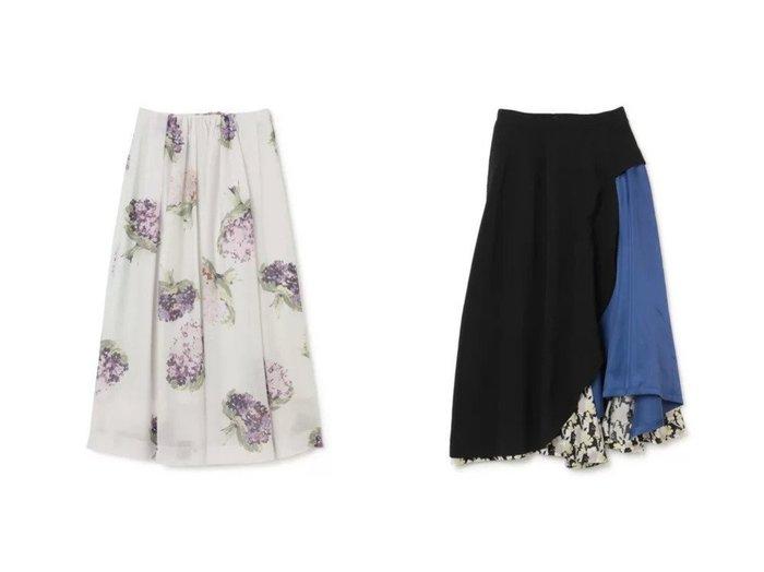 【martinique/マルティニーク】のスカート&【TOGA/トーガ】のAcetate twill skirt 【スカート】おすすめ!人気、トレンド・レディースファッションの通販  おすすめファッション通販アイテム インテリア・キッズ・メンズ・レディースファッション・服の通販 founy(ファニー) https://founy.com/ ファッション Fashion レディースファッション WOMEN スカート Skirt ギャザー フェミニン プリーツ マキシ ロング 2021年 2021 2021春夏・S/S SS/Spring/Summer/2021 S/S・春夏 SS・Spring/Summer アシンメトリー サテン スカラップ パッチワーク プリント ミックス 無地  ID:crp329100000027328