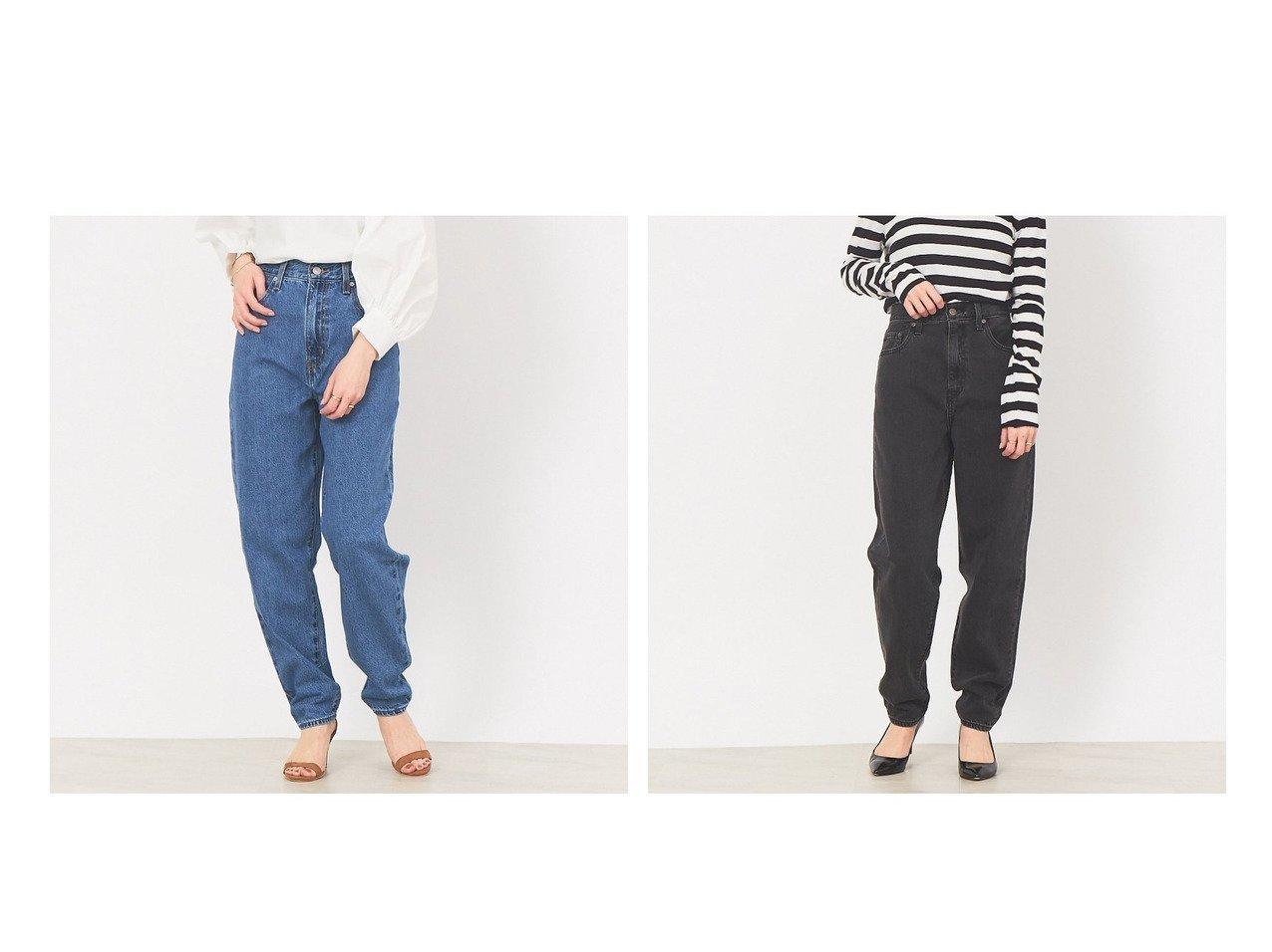【Rouge vif la cle/ルージュヴィフラクレ】の【LEVI S】HIGH LOOSE TAPER デニムパンツ 【パンツ】おすすめ!人気、トレンド・レディースファッションの通販  | レディースファッション・服の通販 founy(ファニー)