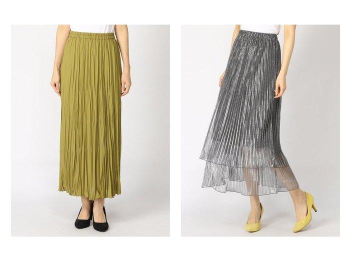 【JEANASiS/ジーナシス】のシアーシャイニーレイヤーSK&【LOWRYS FARM/ローリーズファーム】のワッシャープリーツスカート* 【スカート】おすすめ!人気、トレンド・レディースファッションの通販  おすすめファッション通販アイテム レディースファッション・服の通販 founy(ファニー) ファッション Fashion レディースファッション WOMEN スカート Skirt プリーツスカート Pleated Skirts ギャザー スウェット プリーツ リラックス 2020年 2020 2020春夏・S/S SS・Spring/Summer/2020 2021年 2021 2021春夏・S/S SS/Spring/Summer/2021 S/S・春夏 SS・Spring/Summer おすすめ Recommend デニム ブルゾン  ID:crp329100000027342