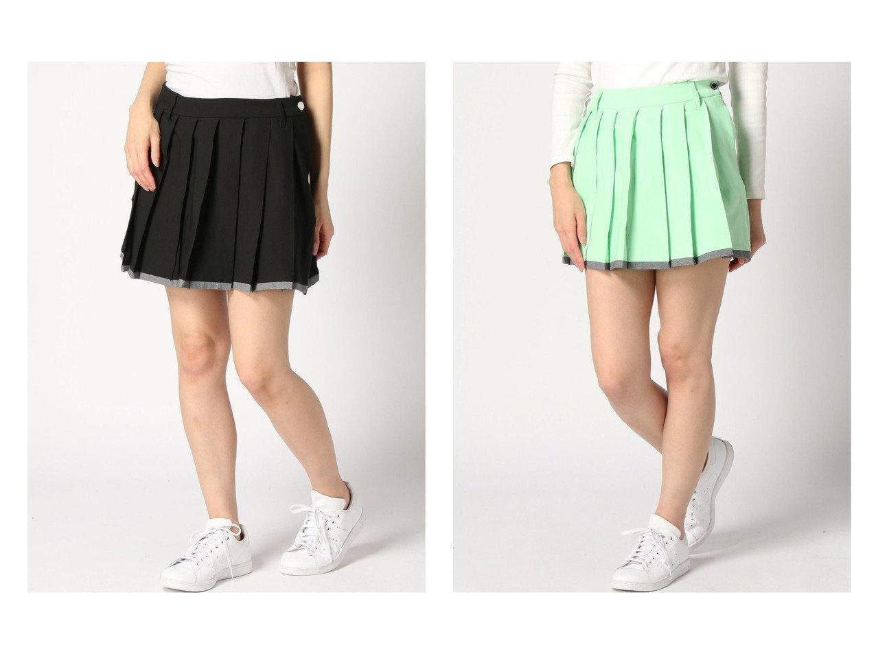 【DESCENTE GOLF/デサントゴルフ】のプリーツ スカート 【スカート】おすすめ!人気、トレンド・レディースファッションの通販    レディースファッション・服の通販 founy(ファニー)
