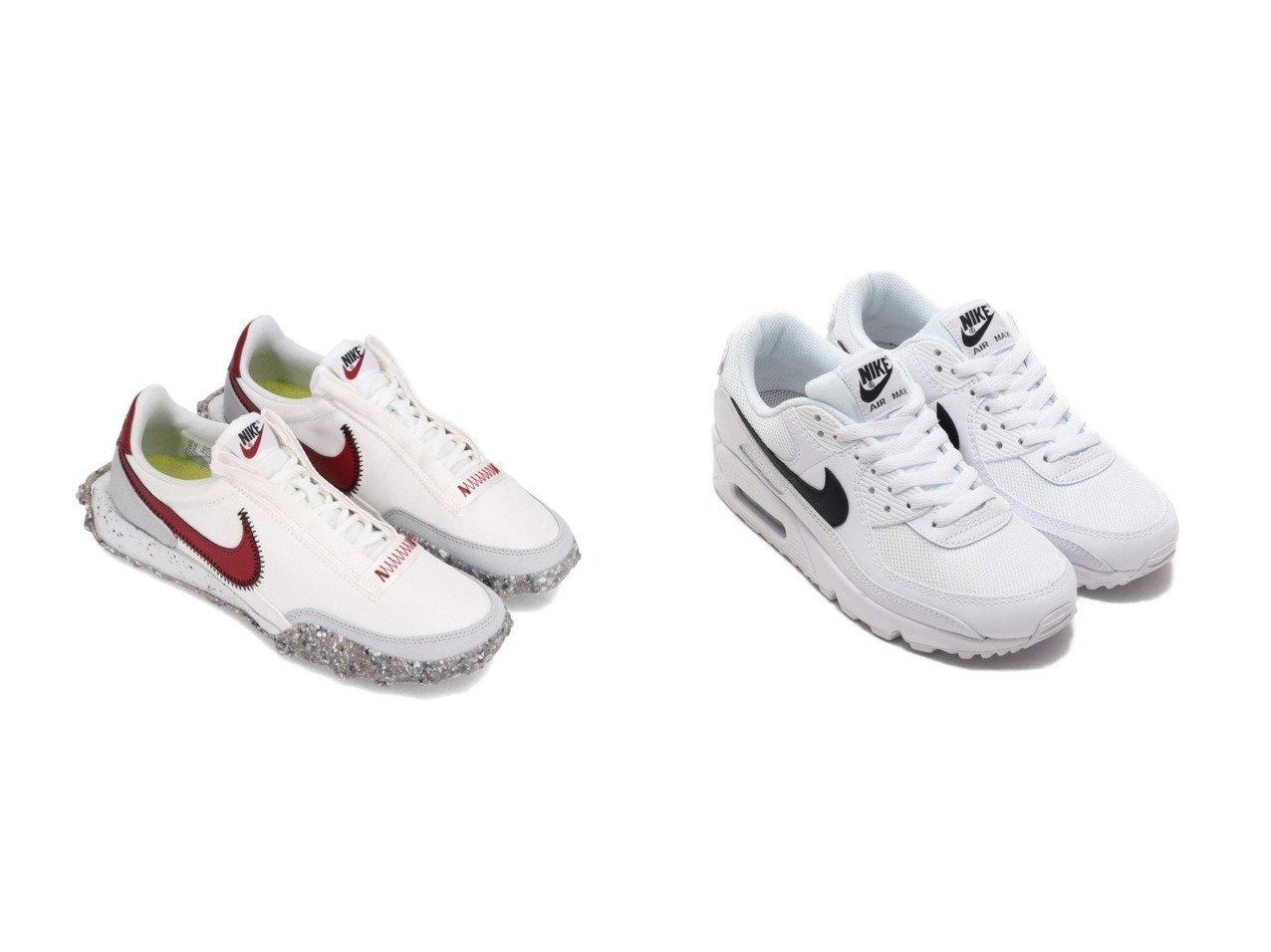 【NIKE/ナイキ】のNIKE W AIR MAX 90&NIKE WAFFLE RACER CRATER 【シューズ・靴】おすすめ!人気、トレンド・レディースファッションの通販  おすすめで人気の流行・トレンド、ファッションの通販商品 メンズファッション・キッズファッション・インテリア・家具・レディースファッション・服の通販 founy(ファニー) https://founy.com/ ファッション Fashion レディースファッション WOMEN シューズ スニーカー スリッポン モダン ラバー ワッフル ランニング |ID:crp329100000027365