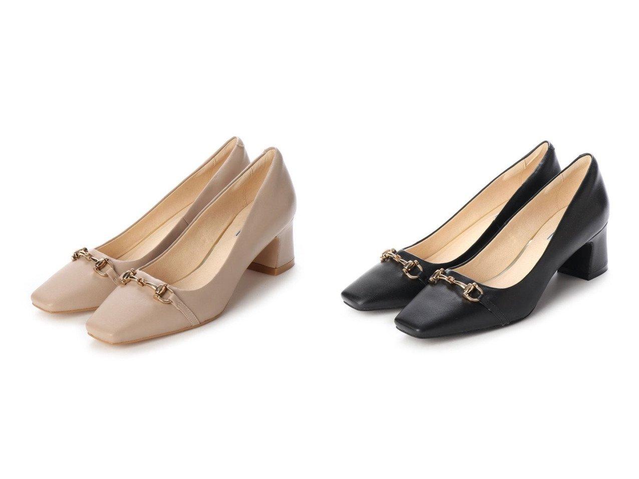 【EVOL/イーボル】の本革ビットパンプス 【シューズ・靴】おすすめ!人気、トレンド・レディースファッションの通販  おすすめで人気の流行・トレンド、ファッションの通販商品 メンズファッション・キッズファッション・インテリア・家具・レディースファッション・服の通販 founy(ファニー) https://founy.com/ ファッション Fashion レディースファッション WOMEN シューズ |ID:crp329100000027367