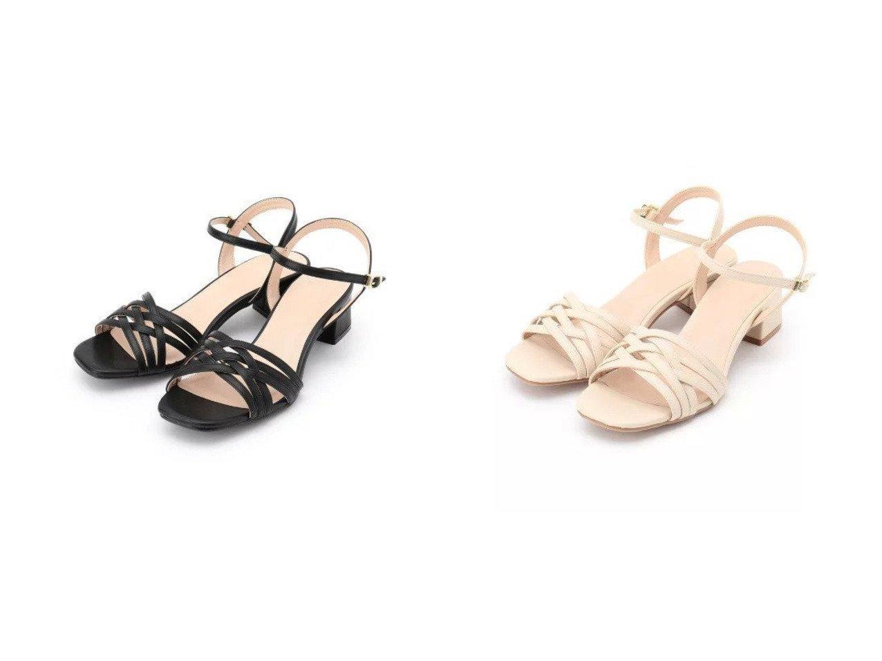 【INDEX/インデックス】のクロスメッシュヒールサンダル 【シューズ・靴】おすすめ!人気、トレンド・レディースファッションの通販  おすすめで人気の流行・トレンド、ファッションの通販商品 メンズファッション・キッズファッション・インテリア・家具・レディースファッション・服の通販 founy(ファニー) https://founy.com/ ファッション Fashion レディースファッション WOMEN サンダル シューズ メッシュ ラップ |ID:crp329100000027371