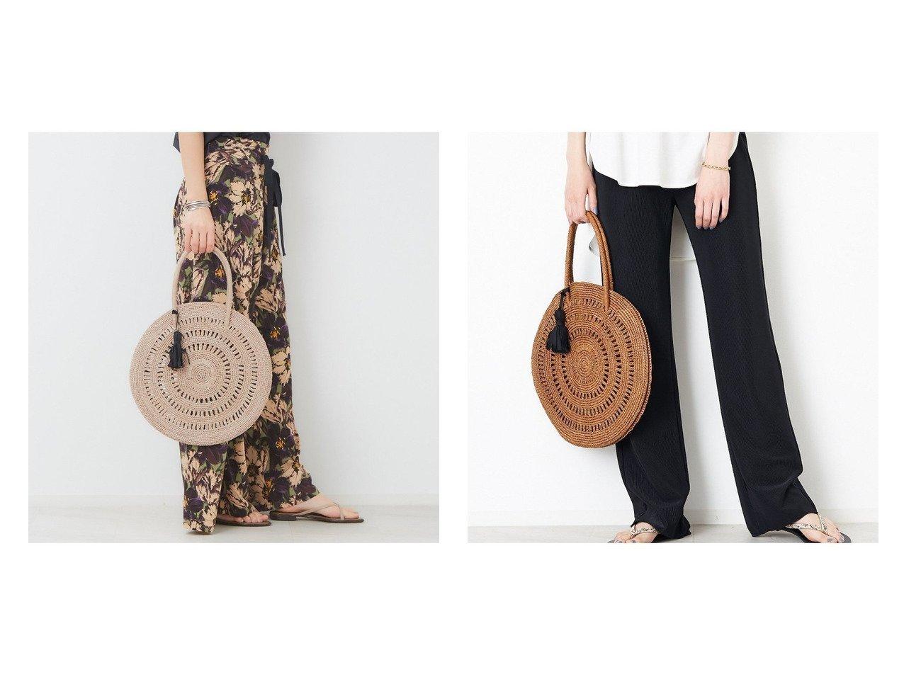 【Rouge vif la cle/ルージュヴィフラクレ】の【MAISON N.H PARIS】 サークルバッグM 【バッグ・鞄】おすすめ!人気、トレンド・レディースファッションの通販  おすすめで人気の流行・トレンド、ファッションの通販商品 メンズファッション・キッズファッション・インテリア・家具・レディースファッション・服の通販 founy(ファニー) https://founy.com/ ファッション Fashion レディースファッション WOMEN バッグ Bag サークル リゾート 人気 |ID:crp329100000027388