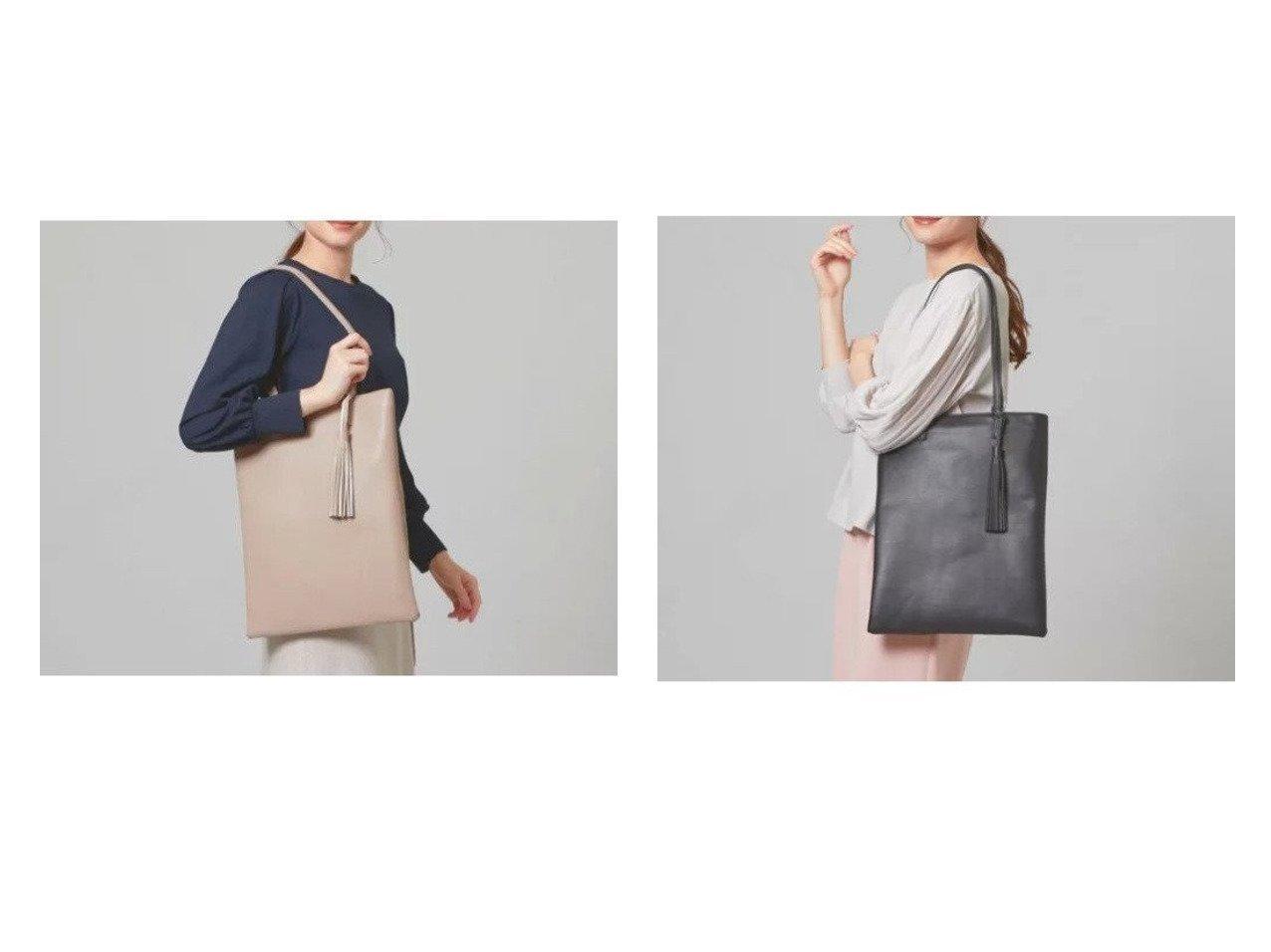 【THE STATION STORE / UNITED ARROWS/ザ ステーション ストア】のFL タッセル タテ トートバッグ 【バッグ・鞄】おすすめ!人気、トレンド・レディースファッションの通販  おすすめで人気の流行・トレンド、ファッションの通販商品 メンズファッション・キッズファッション・インテリア・家具・レディースファッション・服の通販 founy(ファニー) https://founy.com/ ファッション Fashion レディースファッション WOMEN バッグ Bag エレガント シンプル ジップ タッセル フラット ポケット マグネット ワンポイント おすすめ Recommend |ID:crp329100000027394