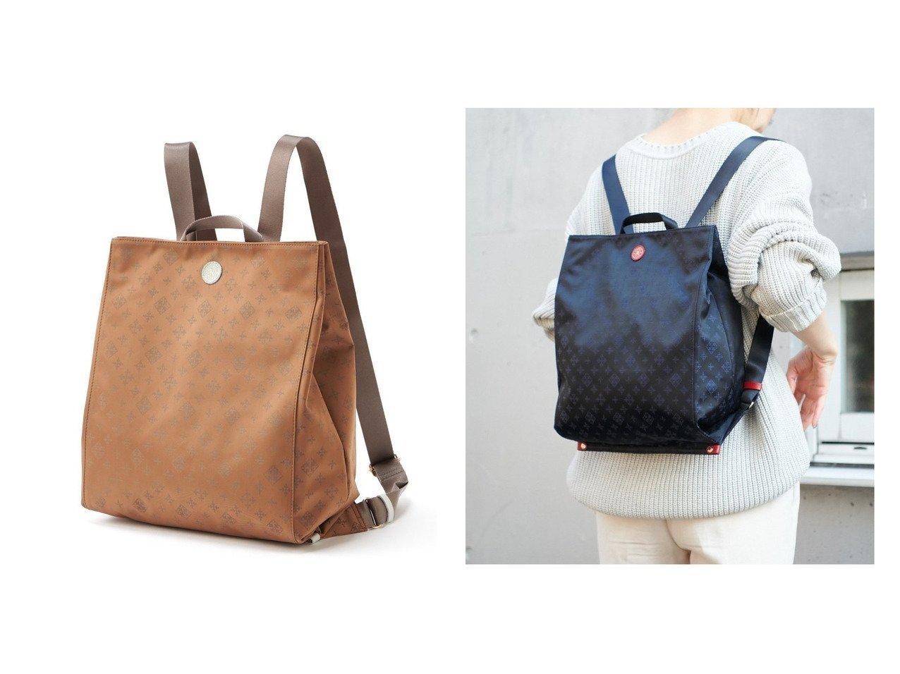 【russet/ラシット】のたためるリュックサック(CE-804) 【バッグ・鞄】おすすめ!人気、トレンド・レディースファッションの通販    レディースファッション・服の通販 founy(ファニー)
