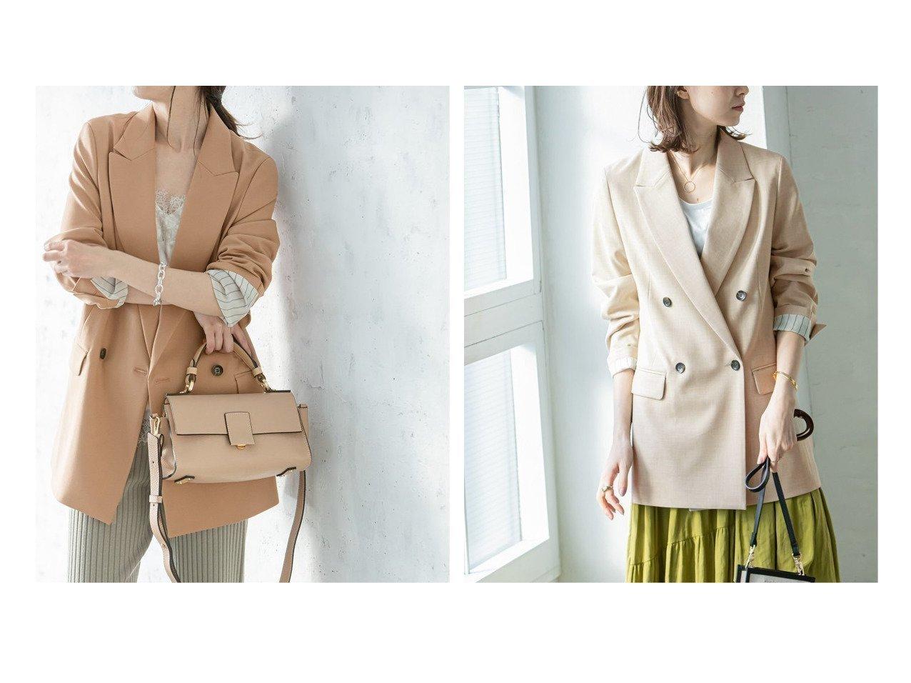 【NOBLE / Spick & Span/ノーブル / スピック&スパン】のナローピークドジャケット 【アウター】おすすめ!人気、トレンド・レディースファッションの通販  おすすめで人気の流行・トレンド、ファッションの通販商品 メンズファッション・キッズファッション・インテリア・家具・レディースファッション・服の通販 founy(ファニー) https://founy.com/ ファッション Fashion レディースファッション WOMEN アウター Coat Outerwear ジャケット Jackets テーラードジャケット Tailored Jackets 2021年 2021 2021春夏・S/S SS/Spring/Summer/2021 S/S・春夏 SS・Spring/Summer ジャケット ストレッチ ミックス |ID:crp329100000027432