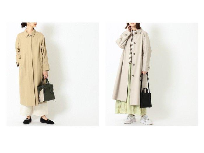 【B:MING by BEAMS/ビーミング by ビームス】の撥水 ステンカラー コート 21SS 【アウター】おすすめ!人気、トレンド・レディースファッションの通販  おすすめファッション通販アイテム インテリア・キッズ・メンズ・レディースファッション・服の通販 founy(ファニー) https://founy.com/ ファッション Fashion レディースファッション WOMEN アウター Coat Outerwear コート Coats ジャケット Jackets 2021年 2021 2021春夏・S/S SS/Spring/Summer/2021 S/S・春夏 SS・Spring/Summer ジャケット スタイリッシュ バランス ベーシック ロング 春 Spring |ID:crp329100000027449