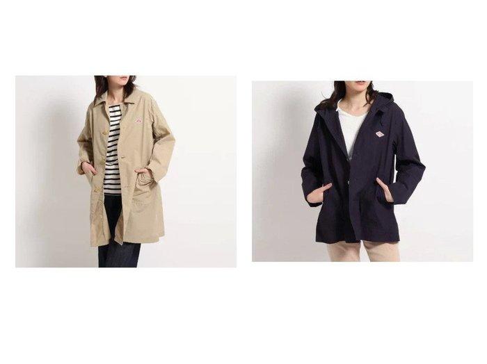 【Dessin/デッサン】のDANTON ステンカラーコート&DANTON フーデットコート 【アウター】おすすめ!人気、トレンド・レディースファッションの通販  おすすめファッション通販アイテム インテリア・キッズ・メンズ・レディースファッション・服の通販 founy(ファニー) https://founy.com/ ファッション Fashion レディースファッション WOMEN アウター Coat Outerwear コート Coats シンプル ポケット  ID:crp329100000027460