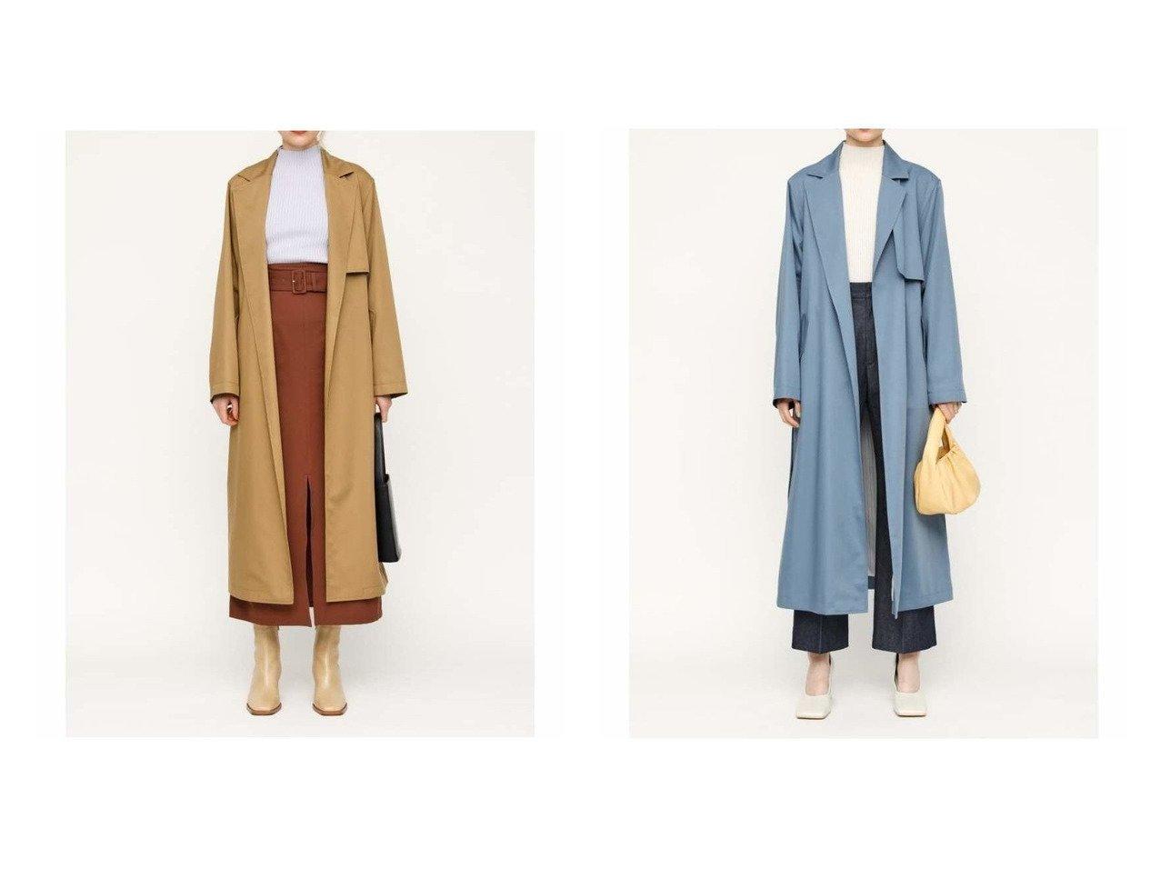 【SLY/スライ】のTRENCH ガウン 【アウター】おすすめ!人気、トレンド・レディースファッションの通販    レディースファッション・服の通販 founy(ファニー)