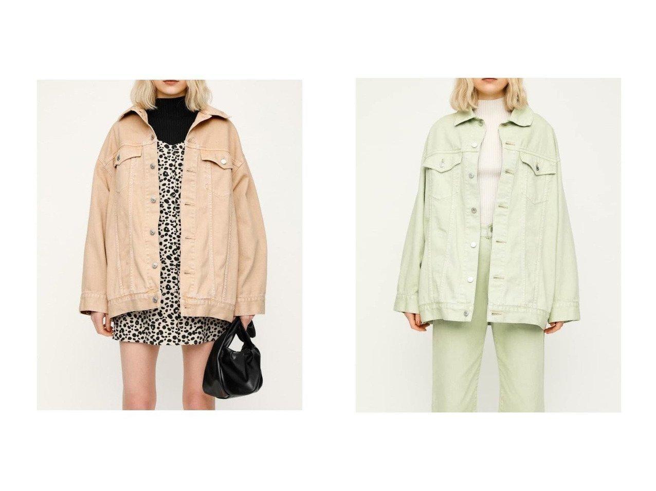 【SLY/スライ】のRON DENIM OVER JK-E 【アウター】おすすめ!人気、トレンド・レディースファッションの通販    レディースファッション・服の通販 founy(ファニー)