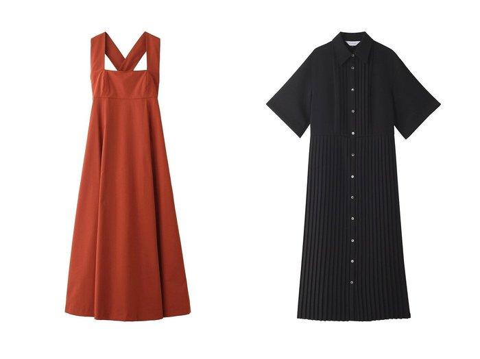 【CLANE/クラネ】のワンピース&【LE CIEL BLEU/ルシェル ブルー】のプリーツシャツドレス 【ワンピース・ドレス】おすすめ!人気、トレンド・レディースファッションの通販  おすすめファッション通販アイテム レディースファッション・服の通販 founy(ファニー)  ファッション Fashion レディースファッション WOMEN ワンピース Dress ドレス Party Dresses 2021年 2021 2021春夏・S/S SS/Spring/Summer/2021 S/S・春夏 SS・Spring/Summer パーティ フレア ラップ ロング 春 Spring |ID:crp329100000027496