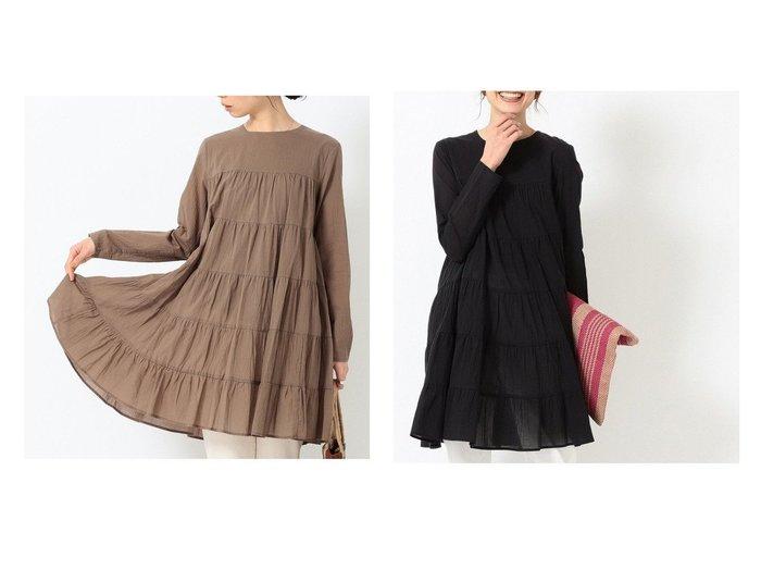 【B:MING by BEAMS/ビーミング by ビームス】のティアード チュニック ワンピース 21SS 【ワンピース・ドレス】おすすめ!人気、トレンド・レディースファッションの通販  おすすめファッション通販アイテム レディースファッション・服の通販 founy(ファニー) ファッション Fashion レディースファッション WOMEN ワンピース Dress チュニック Tunic 2021年 2021 2021春夏・S/S SS/Spring/Summer/2021 S/S・春夏 SS・Spring/Summer チュニック ティアード 再入荷 Restock/Back in Stock/Re Arrival |ID:crp329100000027511