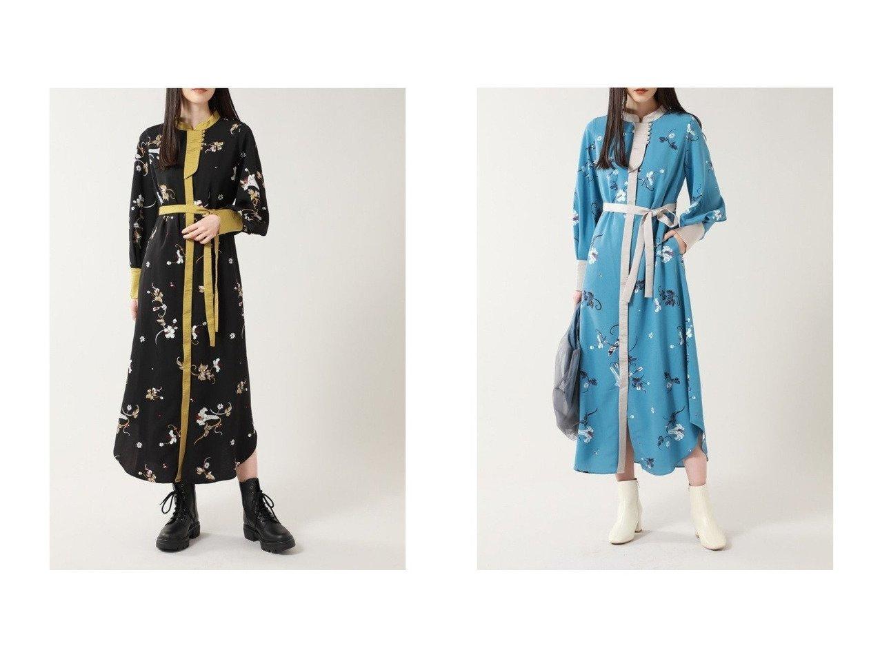 【ROSE BUD/ローズバッド】のオリエンタルプリントワンピース 【ワンピース・ドレス】おすすめ!人気、トレンド・レディースファッションの通販    レディースファッション・服の通販 founy(ファニー)