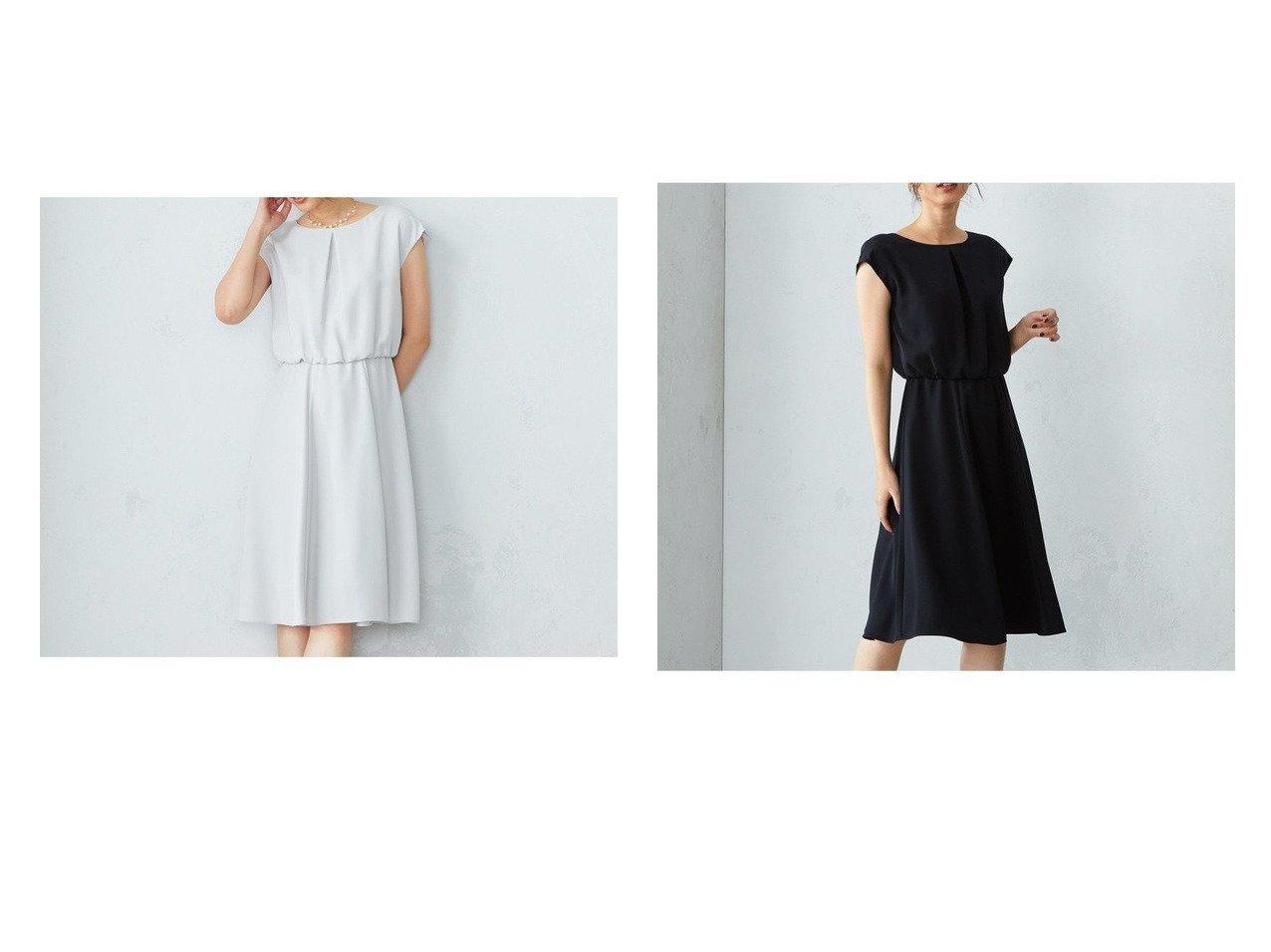【COMME CA ISM/コムサイズム】の【セットアップ】ブラウジング ワンピース 【ワンピース・ドレス】おすすめ!人気、トレンド・レディースファッションの通販    レディースファッション・服の通販 founy(ファニー)
