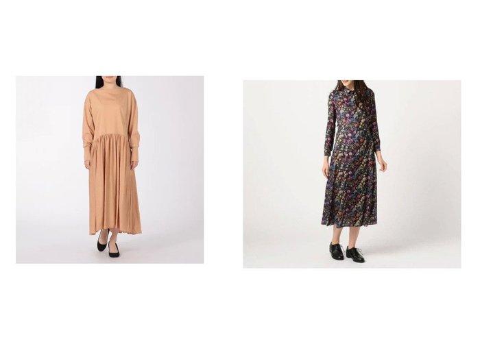 【KEITH/キース】のROCK WOOD ワンピース&【Munich/ミューニック】のcotton jersey x satin gathered ワンピース 【ワンピース・ドレス】おすすめ!人気、トレンド・レディースファッションの通販  おすすめファッション通販アイテム レディースファッション・服の通販 founy(ファニー) ファッション Fashion レディースファッション WOMEN ワンピース Dress ドレス Party Dresses シャツワンピース Shirt Dresses エレガント ギャザー サテン ドッキング ドレス フォーマル ロング 洗える 長袖 とろみ カーディガン フラワー プリント 羽織 |ID:crp329100000027533