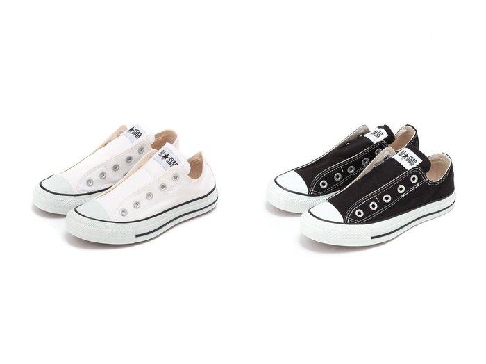 【B:MING by BEAMS/ビーミング by ビームス】のALL STAR スリップ(22.5~24.5cm) BEAMS ビームス 【シューズ・靴】おすすめ!人気、トレンド・レディースファッションの通販 おすすめファッション通販アイテム インテリア・キッズ・メンズ・レディースファッション・服の通販 founy(ファニー) https://founy.com/ ファッション Fashion レディースファッション WOMEN キャンバス シューズ スニーカー スマート スリッポン 定番 Standard 人気 レース 楽ちん |ID:crp329100000027602