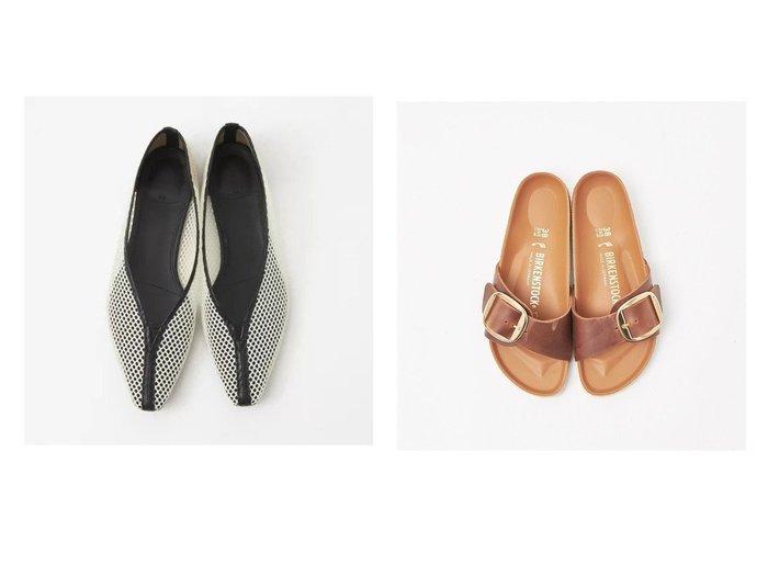 【qualite/カリテ】の【BIRKENSTOCK】MADRID マドリッド ビッグバックルサンダル&【quartierglam】FLAT MESH PUMPS 【シューズ・靴】おすすめ!人気、トレンド・レディースファッションの通販 おすすめファッション通販アイテム レディースファッション・服の通販 founy(ファニー) ファッション Fashion レディースファッション WOMEN バッグ Bag サンダル シューズ シンプル ビッグ ビビッド ミュール 定番 Standard S/S・春夏 SS・Spring/Summer おすすめ Recommend トレンド パイピング フラット 春 Spring |ID:crp329100000027608