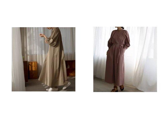 【marjour/マージュール】のVOLUME SLEEVE SHIRTS ONEPIECE 【ワンピース・ドレス】おすすめ!人気、トレンド・レディースファッションの通販  おすすめファッション通販アイテム インテリア・キッズ・メンズ・レディースファッション・服の通販 founy(ファニー) https://founy.com/ ファッション Fashion レディースファッション WOMEN ワンピース Dress インナー 春 Spring 秋 Autumn/Fall キャミソール クラシカル スタイリッシュ タンク タートルネック トレンド 長袖 ベーシック 冬 Winter おすすめ Recommend |ID:crp329100000027671