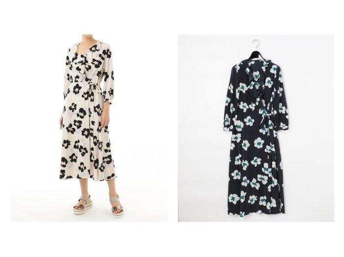 【GRACE CONTINENTAL/グレース コンチネンタル】のレオパードフラワーワンピース 【ワンピース・ドレス】おすすめ!人気、トレンド・レディースファッションの通販  おすすめファッション通販アイテム レディースファッション・服の通販 founy(ファニー) ファッション Fashion レディースファッション WOMEN ワンピース Dress フラワー フリル リボン ヴィンテージ 今季 半袖 |ID:crp329100000027681