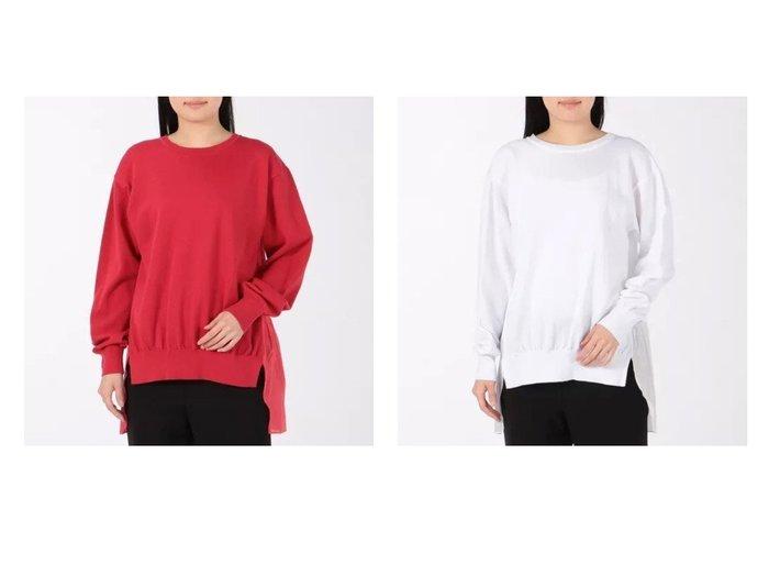 【Munich/ミューニック】の-lawn tiered プルオーバー 【トップス・カットソー】おすすめ!人気、トレンド・レディースファッションの通販  おすすめファッション通販アイテム レディースファッション・服の通販 founy(ファニー) ファッション Fashion レディースファッション WOMEN トップス・カットソー Tops/Tshirt シャツ/ブラウス Shirts/Blouses ロング / Tシャツ T-Shirts プルオーバー Pullover カットソー Cut and Sewn エアリー カットソー フェミニン フロント ラグジュアリー 洗える 長袖 |ID:crp329100000027784