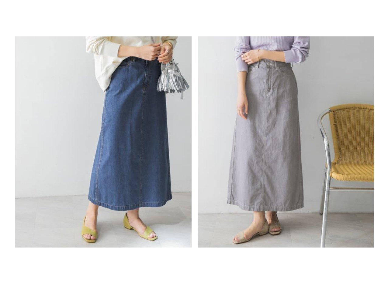 【URBAN RESEARCH/アーバンリサーチ】のセミフレアデニムスカート 【スカート】おすすめ!人気、トレンド・レディースファッションの通販 おすすめで人気の流行・トレンド、ファッションの通販商品 メンズファッション・キッズファッション・インテリア・家具・レディースファッション・服の通販 founy(ファニー) https://founy.com/ ファッション Fashion レディースファッション WOMEN スカート Skirt デニムスカート Denim Skirts 春 Spring デニム トレンド 定番 Standard フォルム ベーシック ポケット 再入荷 Restock/Back in Stock/Re Arrival S/S・春夏 SS・Spring/Summer おすすめ Recommend |ID:crp329100000027825