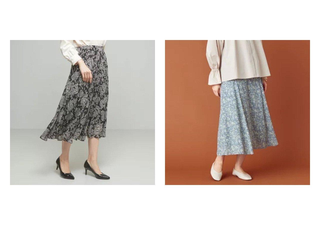 【THE STATION STORE / UNITED ARROWS/ザ ステーション ストア】のPO エアリーフラワー フレアスカート -手洗い可能-&ジャガード ロングスカート -手洗い可能- 【スカート】おすすめ!人気、トレンド・レディースファッションの通販 おすすめで人気の流行・トレンド、ファッションの通販商品 メンズファッション・キッズファッション・インテリア・家具・レディースファッション・服の通販 founy(ファニー) https://founy.com/ ファッション Fashion レディースファッション WOMEN スカート Skirt ロングスカート Long Skirt Aライン/フレアスカート Flared A-Line Skirts エアリー エレガント 春 Spring カットソー ジャケット マキシ ロング |ID:crp329100000027837