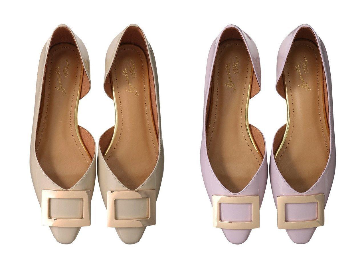 【Daniella & GEMMA/ダニエラ アンド ジェマ】のモチーフフラットパンプス 【シューズ・靴】おすすめ!人気、トレンド・レディースファッションの通販 おすすめで人気の流行・トレンド、ファッションの通販商品 メンズファッション・キッズファッション・インテリア・家具・レディースファッション・服の通販 founy(ファニー) https://founy.com/ ファッション Fashion レディースファッション WOMEN 2021年 2021 2021春夏・S/S SS/Spring/Summer/2021 S/S・春夏 SS・Spring/Summer シューズ フォルム フラット リュクス 春 Spring |ID:crp329100000027845