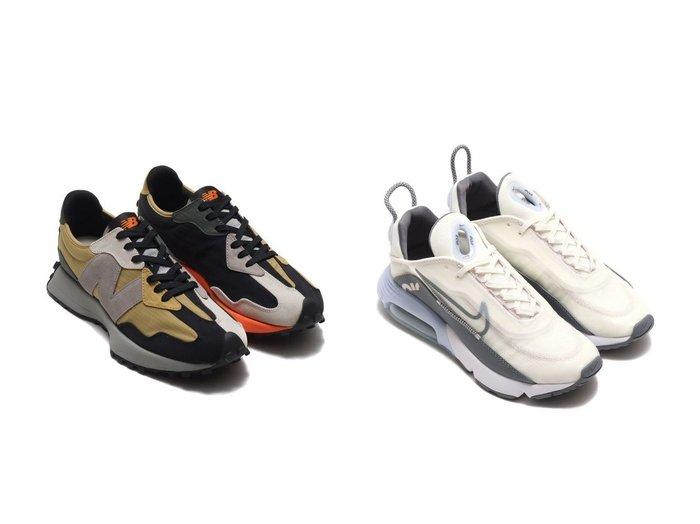 【NIKE/ナイキ】のundefined&【new balance/ニューバランス】のNew Balance MS327PB 【シューズ・靴】おすすめ!人気、トレンド・レディースファッションの通販 おすすめファッション通販アイテム レディースファッション・服の通販 founy(ファニー)  ファッション Fashion レディースファッション WOMEN NEW・新作・新着・新入荷 New Arrivals シューズ スニーカー スリッポン バランス パッチワーク ビッグ モダン ランニング メッシュ |ID:crp329100000027847