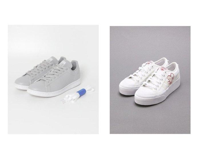 【adidas/アディダス】のNIZZA PLATFORM W&【URBAN RESEARCH/アーバンリサーチ】の【別注】adidas Originals for UR STAN SMITH EX. 【シューズ・靴】おすすめ!人気、トレンド・レディースファッションの通販 おすすめファッション通販アイテム レディースファッション・服の通販 founy(ファニー)  ファッション Fashion レディースファッション WOMEN クラシック シューズ スニーカー スペシャル スリッポン 別注 ラバー 2021年 2021 再入荷 Restock/Back in Stock/Re Arrival S/S・春夏 SS・Spring/Summer 2021春夏・S/S SS/Spring/Summer/2021 NEW・新作・新着・新入荷 New Arrivals |ID:crp329100000027848