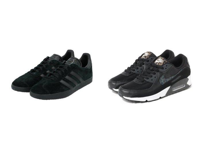 【adidas Originals/アディダス オリジナルス】のガゼル GAZELLE オリジナルス&【B:MING by BEAMS/ビーミング by ビームス】のair MAX 90 SE 【シューズ・靴】おすすめ!人気、トレンド・レディースファッションの通販 おすすめファッション通販アイテム レディースファッション・服の通販 founy(ファニー)  ファッション Fashion レディースファッション WOMEN アニマル クッション シューズ スニーカー スリッポン 定番 Standard 人気 モノトーン ランニング NEW・新作・新着・新入荷 New Arrivals おすすめ Recommend スポーツ バランス ミックス モダン |ID:crp329100000027851