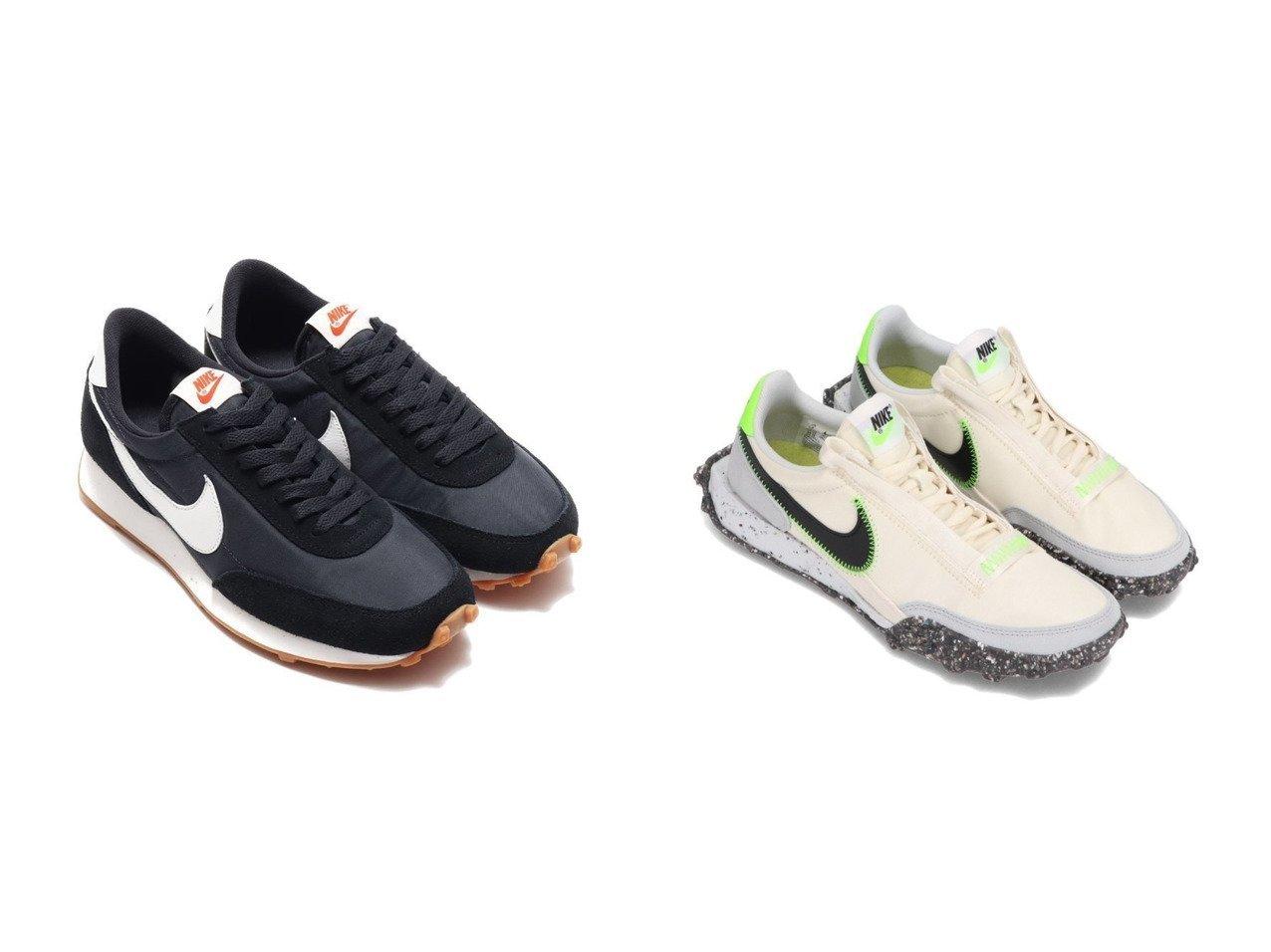 【NIKE/ナイキ】のNIKE W DAYBREAK&NIKE WAFFLE RACER CRATER 【シューズ・靴】おすすめ!人気、トレンド・レディースファッションの通販 おすすめで人気の流行・トレンド、ファッションの通販商品 メンズファッション・キッズファッション・インテリア・家具・レディースファッション・服の通販 founy(ファニー) https://founy.com/ ファッション Fashion レディースファッション WOMEN シューズ スニーカー スリッポン モダン ラバー ワッフル クラシック |ID:crp329100000027858