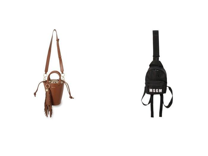 【SEE BY CHLOE/シー バイ クロエ】のSMALL TOTE&【MSGM/エムエスジーエム】のMINI BAG 【バッグ・鞄】おすすめ!人気、トレンド・レディースファッションの通販 おすすめファッション通販アイテム レディースファッション・服の通販 founy(ファニー) ファッション Fashion レディースファッション WOMEN バッグ Bag 2021年 2021 2021春夏・S/S SS/Spring/Summer/2021 S/S・春夏 SS・Spring/Summer バランス フォルム ラップ エレガント バケツ 巾着  ID:crp329100000027867