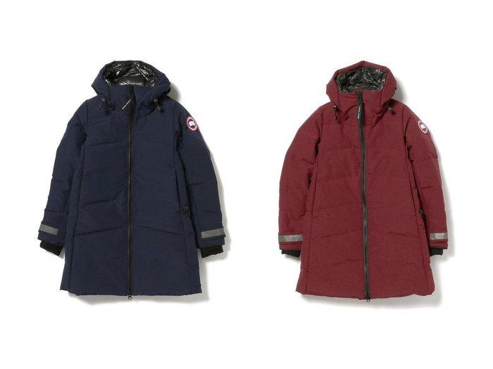 【Ray BEAMS/レイ ビームス】のMERRITT PARKA 【アウター】おすすめ!人気、トレンド・レディースファッションの通販 おすすめファッション通販アイテム レディースファッション・服の通販 founy(ファニー) ファッション Fashion レディースファッション WOMEN アウター Coat Outerwear スポーツ ダウン 冬 Winter |ID:crp329100000027884