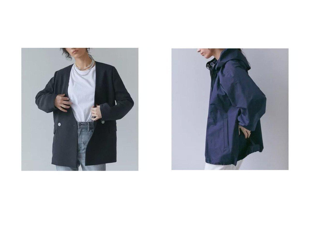 【GALLARDAGALANTE/ガリャルダガランテ】のジャージージャケット&タフタブルゾン 【アウター】おすすめ!人気、トレンド・レディースファッションの通販 おすすめで人気の流行・トレンド、ファッションの通販商品 メンズファッション・キッズファッション・インテリア・家具・レディースファッション・服の通販 founy(ファニー) https://founy.com/ ファッション Fashion レディースファッション WOMEN アウター Coat Outerwear ジャケット Jackets ブルゾン Blouson/Jackets カーディガン ジャケット ジャージー ストレッチ テーラード 定番 Standard 春 Spring ギャザー ショート シンプル スタイリッシュ タフタ パーカー ブルゾン ベーシック  ID:crp329100000027894
